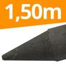 165 x Recyclingpfähle »Rund« 1,50m 4,5cm...