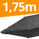 55 x Recycling Pfähle »Vierkant« 1,75m...