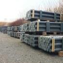 74 x Recyclingpfosten »Rund« 2,00m 7cm Palette