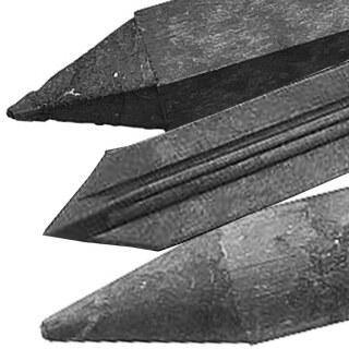 Recyclingpfahl »Rund, Eckig, Kreuz« bis 175cm