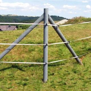 Recyclingpfahl Rund Eckig Kreuz Ab 175cm Gunstig Kaufen