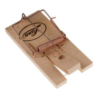 Rattenfalle »Luna« mit Sicherheitsspannvorrichtung · Holz