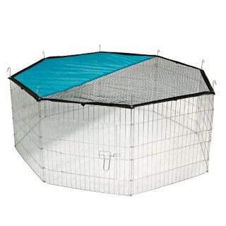 Freilaufgehege »8-eckig« für Kaninchen, Katzen, Hunde · Ø 1,45m