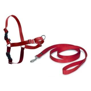 Hunde Geschirr »Easy Walk« inkl. Hundeleine · 66-91cm, rot