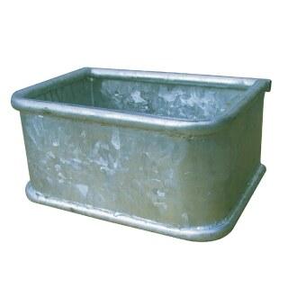 Futter Trog »Rechteck« für Pferdebox, Paddock · Metall, 34l