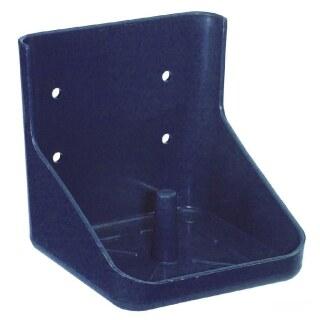 Lecksteinhalter »classic« für Mineralleckstein bis 10kg · blau