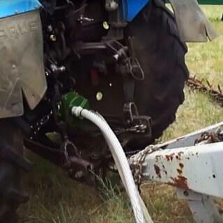 Ganz und zu Extrem Zapfwellenpumpe MT 300 mit Fangkette, an Traktor 150l/min günstig #DY_73