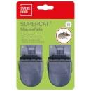 Mausefalle »SuperCat« 2x, zum Mäuse fangen