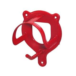 Trensenhalter »Alfred« verstaut Trense, Longe · Metall, rot