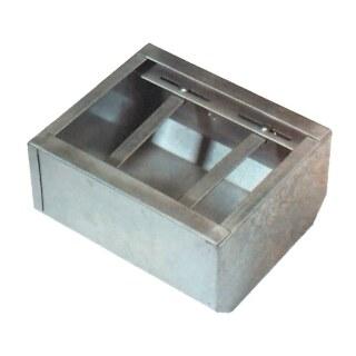 Fohlentrog »Classic« mit Schutzkante · metall, 8l