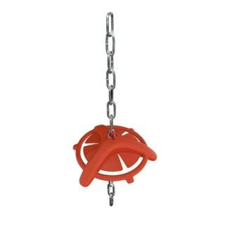 Beissring »Ferkel« vermindert Aggressivität · mit Kette, 180mm