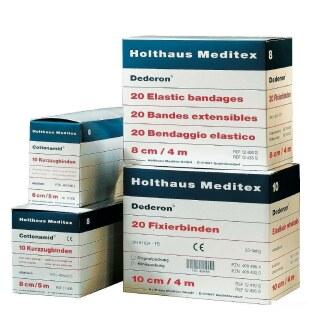 Fixierbinden »Holthaus« elastische Mullbinde · 8cm, 4m