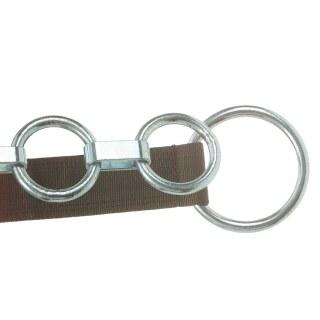 Flachgliederkette »Classic« Vieh Nylonhalsband · 4 Ringe, 10x85mm