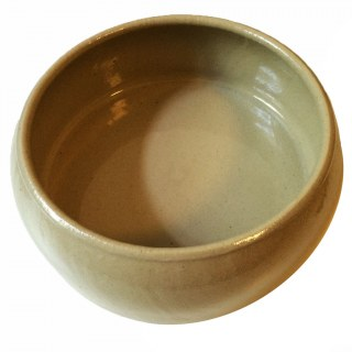 Futter Napf »Keramik Ton« zeitloser Hundenapf · 1l