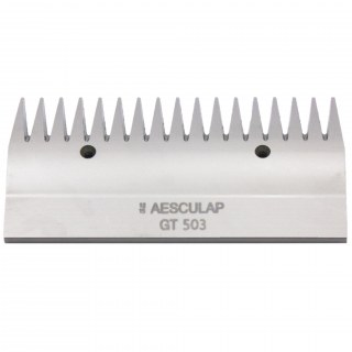 Scherkamm »Aesculap GT 503« obere Schneidplatte 17 Zähne