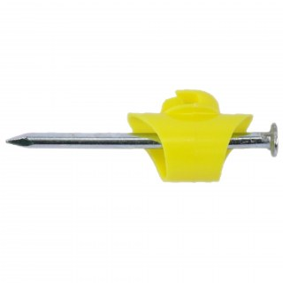100x Nagelisolatoren »Easy« für Litze, Draht · inkl. Nägel
