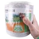 Weidezaunlitze »Super Jumbo« Kunststofflitze · 500m