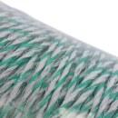 Weidezaunlitze »Torero« Kunststofflitze · 500m, weiß-grün