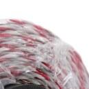 Weidezaunlitze »Torero« Kunststofflitze · 200m, weiß-rot