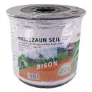 Weidezaunseil »Bison« Elektro Seil · 6mm, 200m, weiß