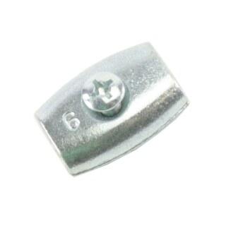 Litzenverbinder »Easy« Eiform verzinkt · 4-6,5mm
