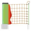 Schafnetz »Euronetz« mit Wildverbissschutz · 50m 2 Spitzen, 106cm