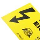 Warnschild Elektrozaun »Vorsicht« Weidezaun...