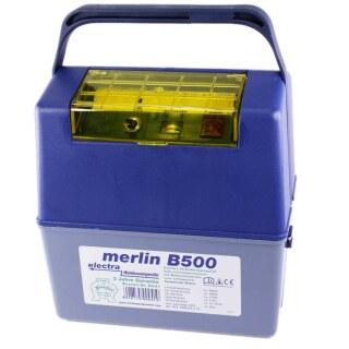 Weidezaungerät 9v »electra Merlin B500« bis 8km