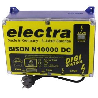 Weidezaungerät 230v»BISON N10000 DC« bis 100km
