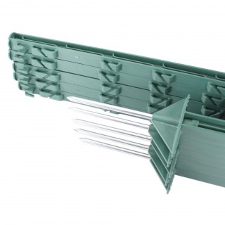 10x Weidezaun Pfähle »Dreieckstritt« 105cm Kunststoffpfähle