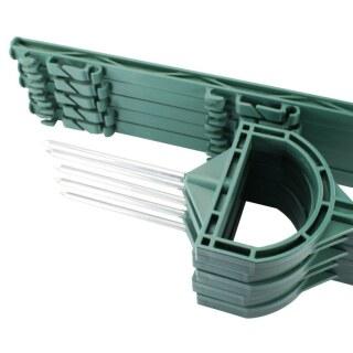 10x Weidezaunpfähle »Steigbügel« 155cm Kunststoffpfähle