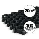 100x Paddockplatten »Rasenwaben« zur...