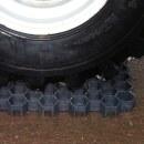 100x Paddockplatten »Rasenwaben« zur Befestigung · 50x40cm