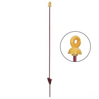 Weidepfähle »Vollring« 10x, Federstahl Metall · rund 8mm, 105cm