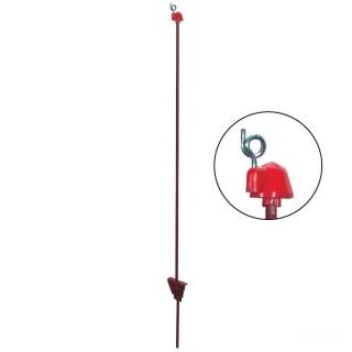 Weidezaunpfähle »Utina« 10x, Metallpfähle · oval 5x10mm, 105cm