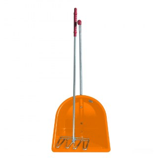 Mistboy »Classic« Set: Schaufel & Forke · 85cm, orange