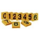 Nummernblock »4« für Markierungsband,...