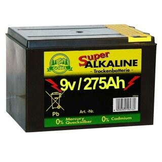 Weidezaunbatterie »Super« Batterien Alkalisch · 9v 275Ah
