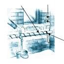 Heizkabel »EasyHeat« für Rohr, Leitung, Rinne · von 1m - 49m