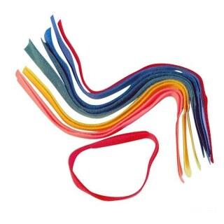Fesselband »Klett« Klettband als Markierung am Bein · in 5 Farben