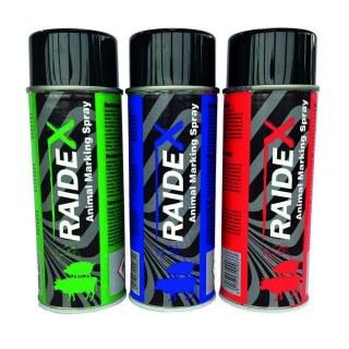 Viehmarkierungsspray »Raidex« markiert Alter · 400ml, in 3 Farben